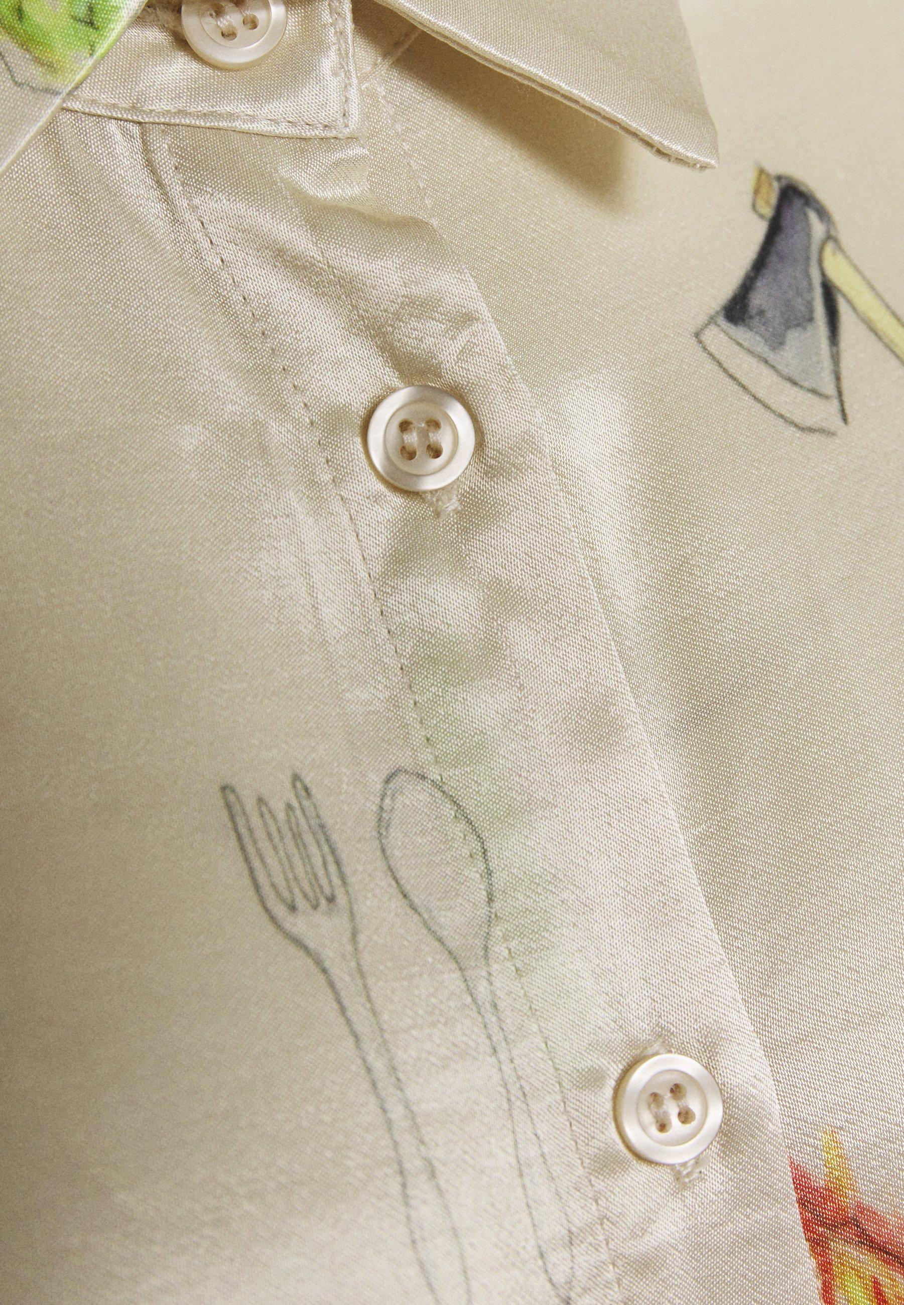 For Cheap Women's Clothing CECILIE copenhagen COURTNEY Button-down blouse cream U9esFzogV