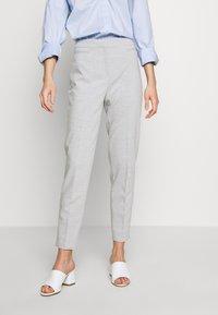Esprit Collection - SLIM SUITING - Bukse - light grey - 0