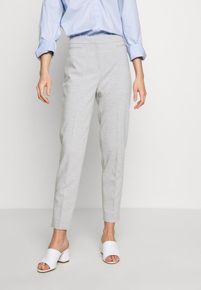 Esprit Collection - SLIM SUITING - Bukse - light grey