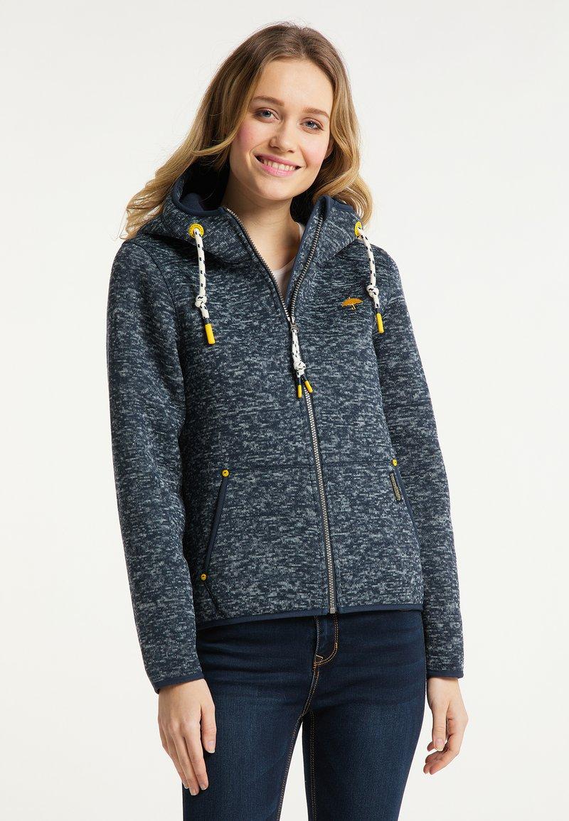 Schmuddelwedda - Fleece jacket - marine melange