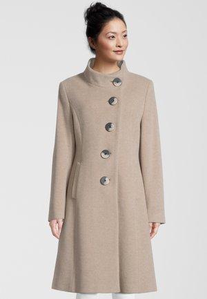 Classic coat - silver mink meleé