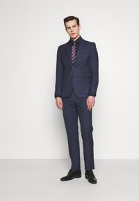 Limehaus - CHECK SUIT - Oblek - navy - 1