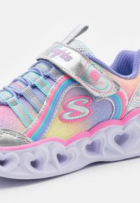Skechers - HEART LIGHTS - Trainers - silver/multicolor - 5