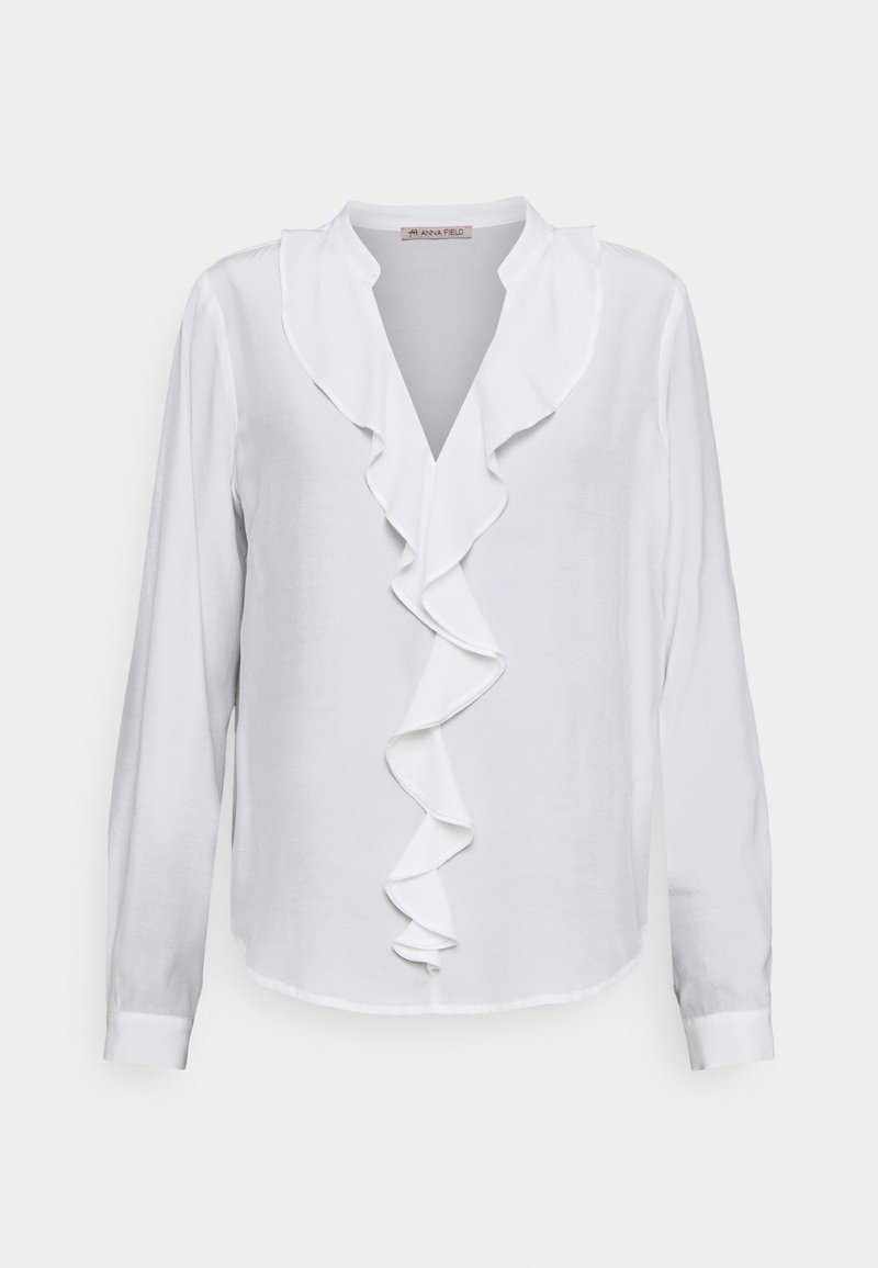 Anna Field - Blouse with volant - Bluse - off-white