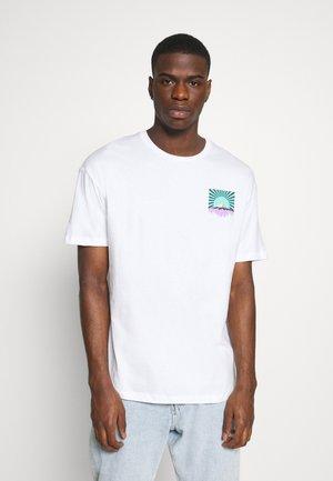 JORFLAX TEE CREW NECK - T-shirt imprimé - white