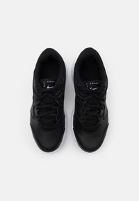 Nike Performance - COURT Jr.  LITE 2 UNISEX - Tenisové boty na všechny povrchy - black/white - 3