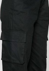 Missguided - PLAIN TROUSER - Pantalon cargo - black - 4