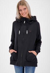 alife & kickin - MARIAAK  - Zip-up sweatshirt - moonless - 0