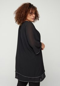 Zizzi - WITH 3/4-LENGTH SLEEVES - Tunic - black - 2