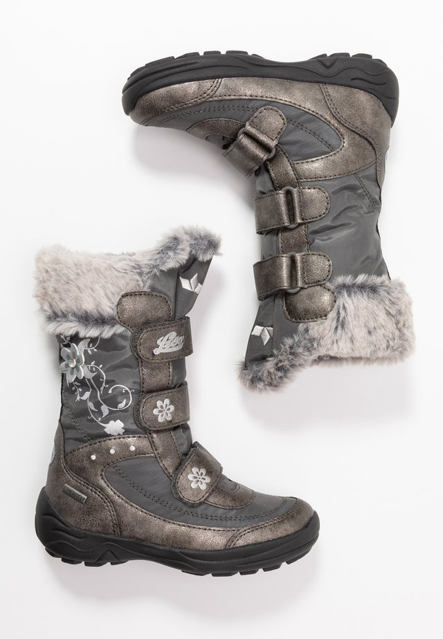 MARY - Winter boots - grau/silber