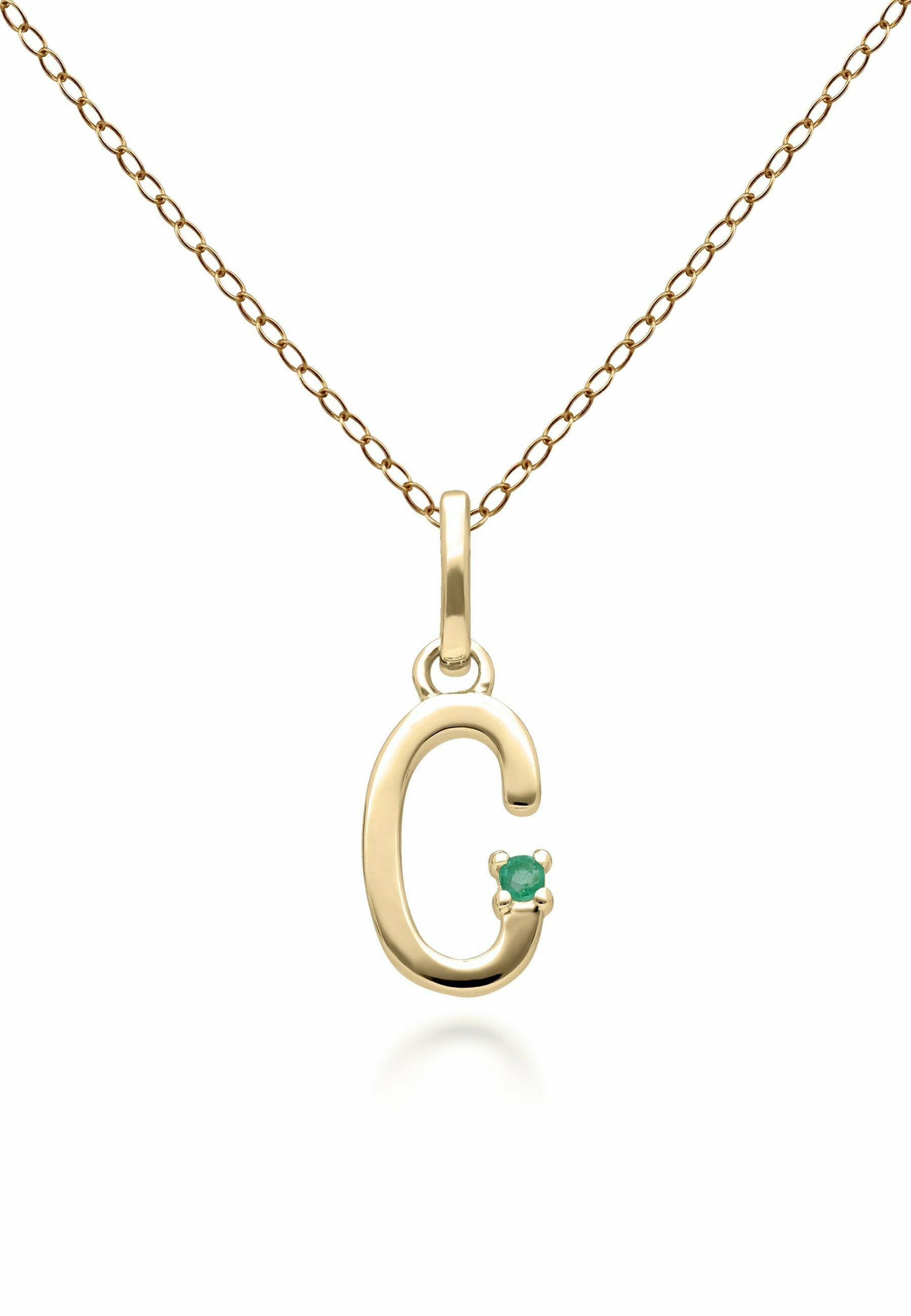 Women INITIAL C  - Necklace