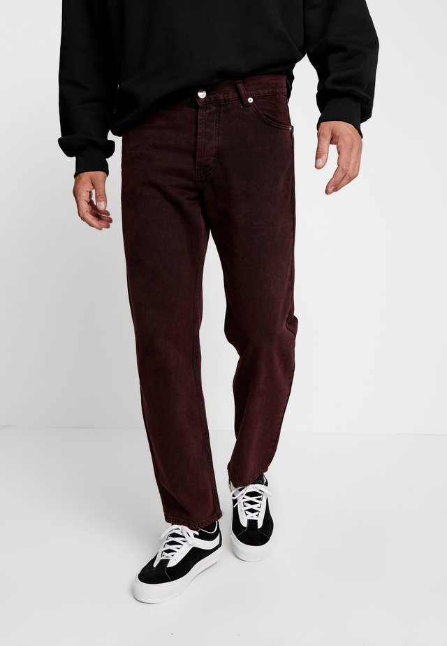 LOOSE - Jeans Relaxed Fit - stone red