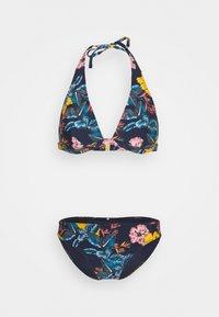 O'Neill - MARGA RITA FIX SET  - Bikini - blue /yellow - 6