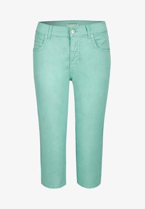 ANACAPRI - Denim shorts - light green