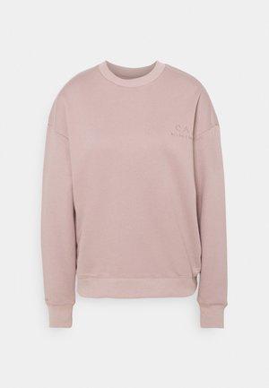 LOGO SWEATER - Sweatshirt - taupe