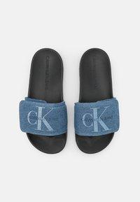 Calvin Klein Swimwear - SLIDE - Pantofle - blue - 5