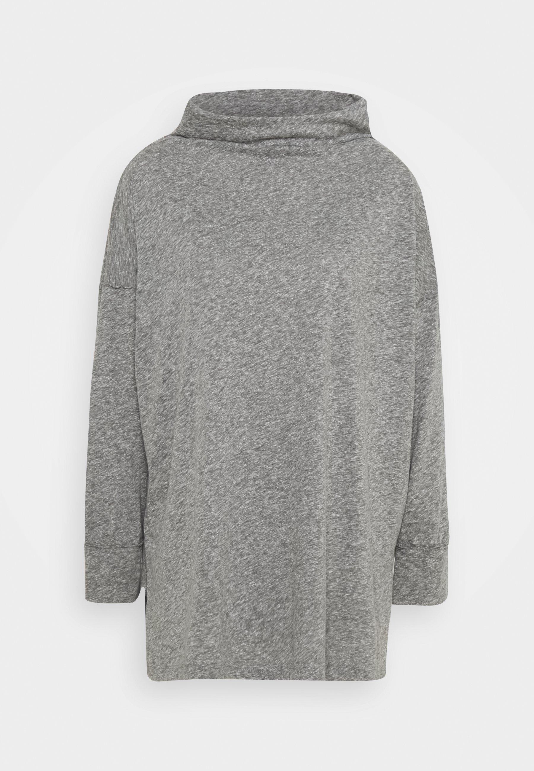Femme FUNNEL NECK TUNIC - T-shirt à manches longues