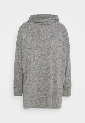 FUNNEL NECK TUNIC - Maglietta a manica lunga - gray