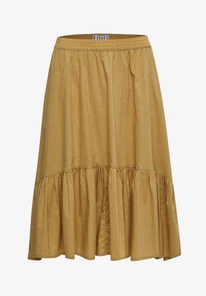 DARICE  - A-line skirt - prairie sand