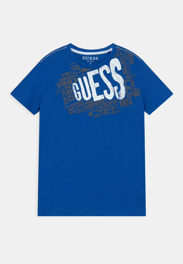 JUNIOR  - T-shirt con stampa - royal blue