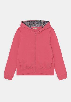 KID HOODY FULL ZIP - Zip-up sweatshirt - calypso coral