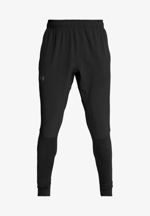 HYBRID - Tracksuit bottoms - black/pitch gray