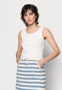 Rich & Royal - SKIRT - Mini skirt - smoked blue - 3