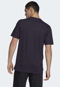 adidas Performance - ESSENTIALS PLAIN T-SHIRT - Basic T-shirt - black - 2