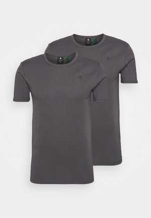 BASE 2 PACK  - T-Shirt basic - light shadow
