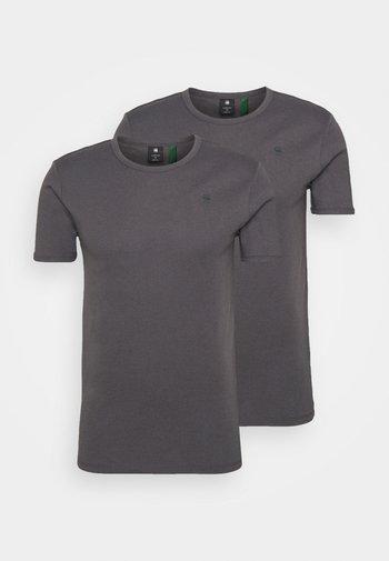 BASE 2 PACK  - Basic T-shirt - light shadow