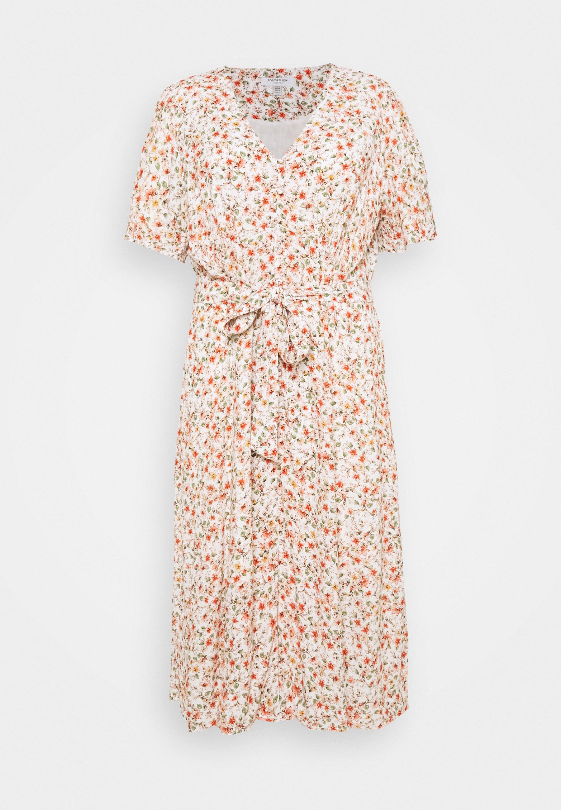 Women ELORA MIDI TEA DRESS - Day dress