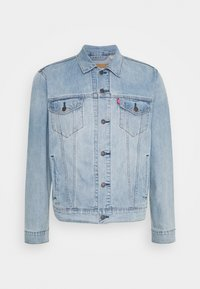 Levi's® - THE TRUCKER JACKET UNISEX - Veste en jean - light indigo/worn in - 4