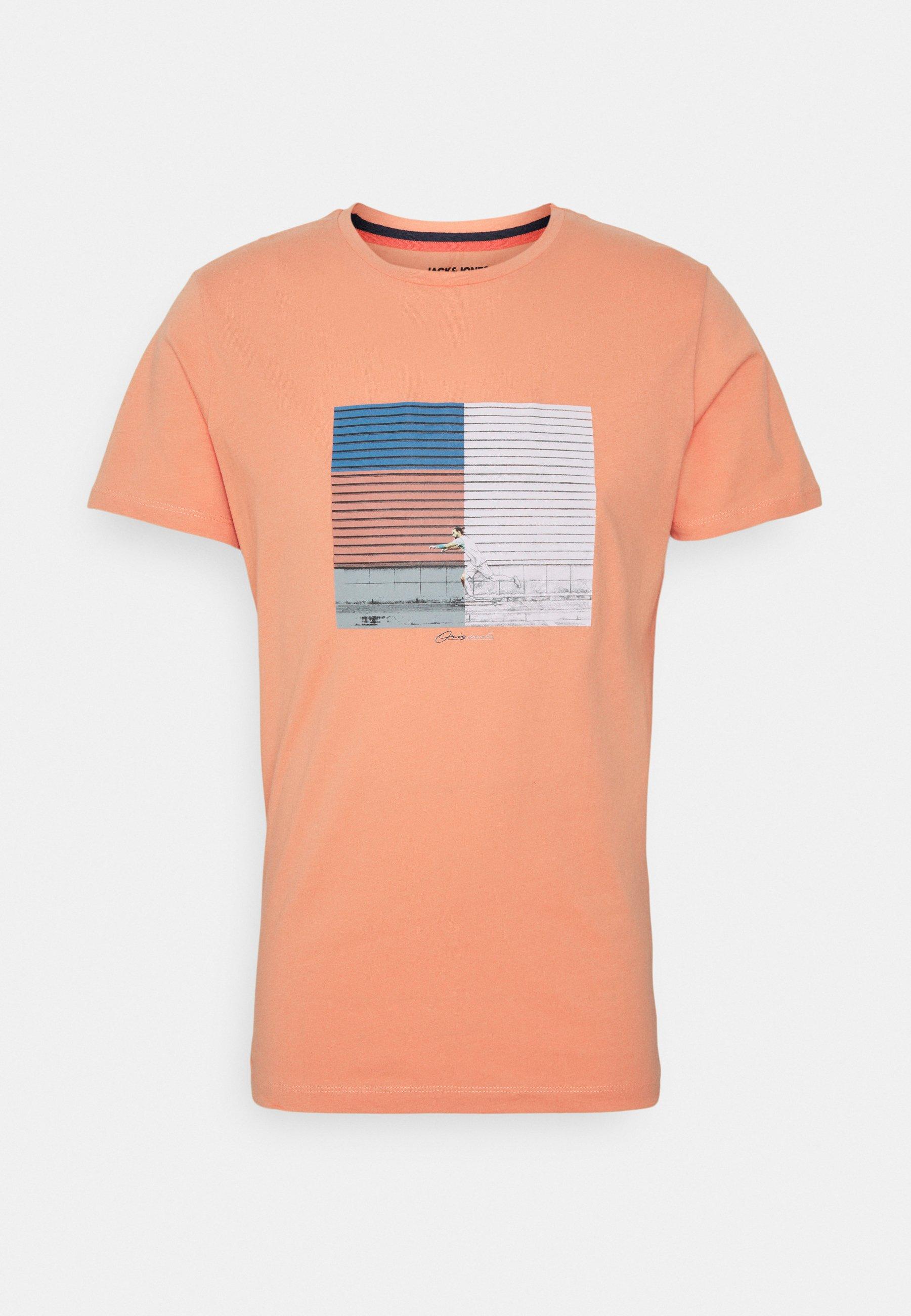 Homme JORHALFO TEE CREW NECK - T-shirt imprimé
