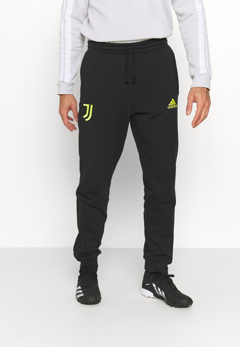 adidas Performance - JUVENTUS TURIN  - Club wear - black/acid yellow