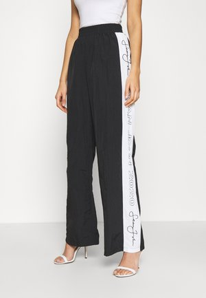 SJXMG STRAIGHT LEG TROUSER - Tracksuit bottoms - black