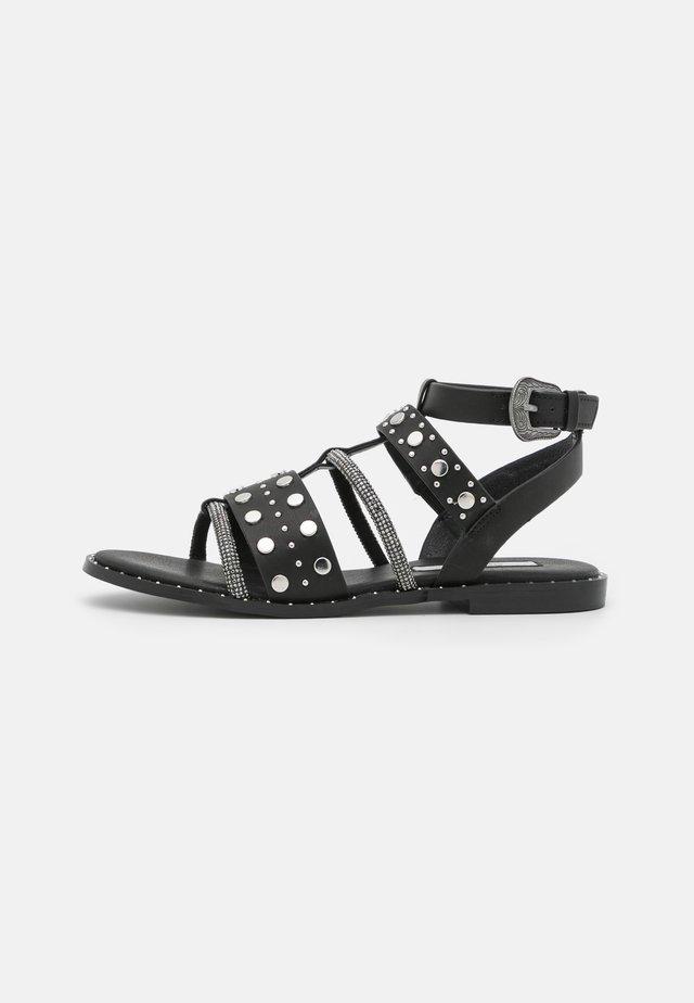 HAYES ROCK - Sandals - black