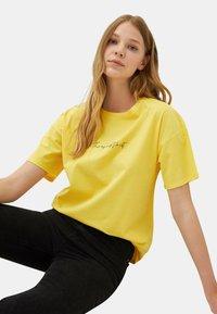 LC Waikiki - Print T-shirt - yellow - 4