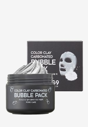 COLOR CLAY CARBONATED BUBBLE PACK - Masque visage - -