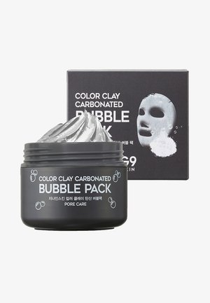 COLOR CLAY CARBONATED BUBBLE PACK - Gesichtsmaske - -
