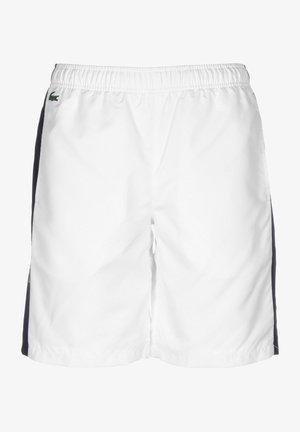 Shorts - white/navy blue-navy blue