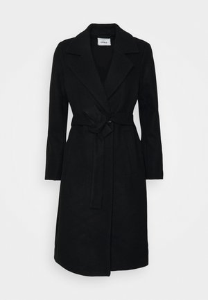 ONLGINA WRAP COAT  - Kåpe / frakk - black