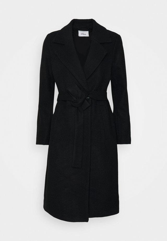 ONLGINA WRAP COAT  - Frakker / klassisk frakker - black