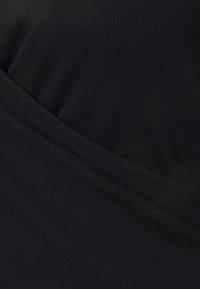 Anna Field Curvy - Top sdlouhým rukávem - black - 4