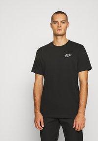 Nike Sportswear - NEW MODERN TEE - T-shirts basic - black - 0