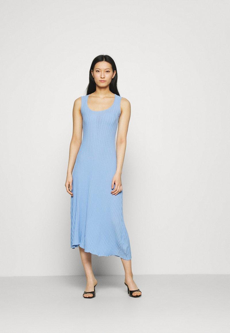Mossman - THE BEFORE DAWN DRESS - Maxi dress - blue
