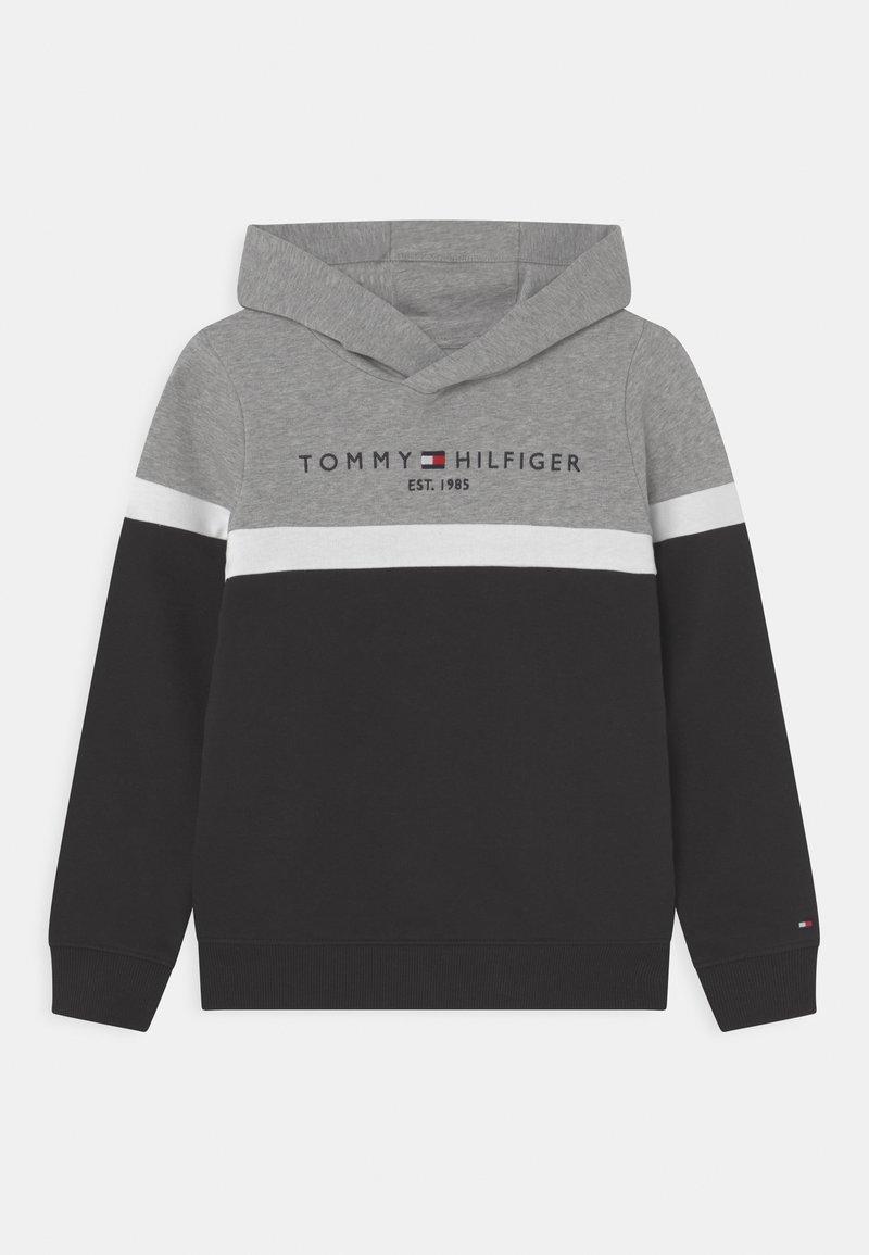 Tommy Hilfiger - COLORBLOCK HOODIE - Sweatshirt - black