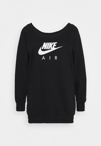 Nike Sportswear - AIR CREW  - Sweatshirt - black/white - 4