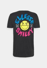 Ellesse - PLEASURO TEE  - Print T-shirt - dark grey - 1