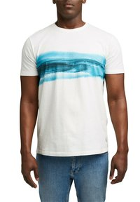 Esprit - ARTWORK - Print T-shirt - off white - 4