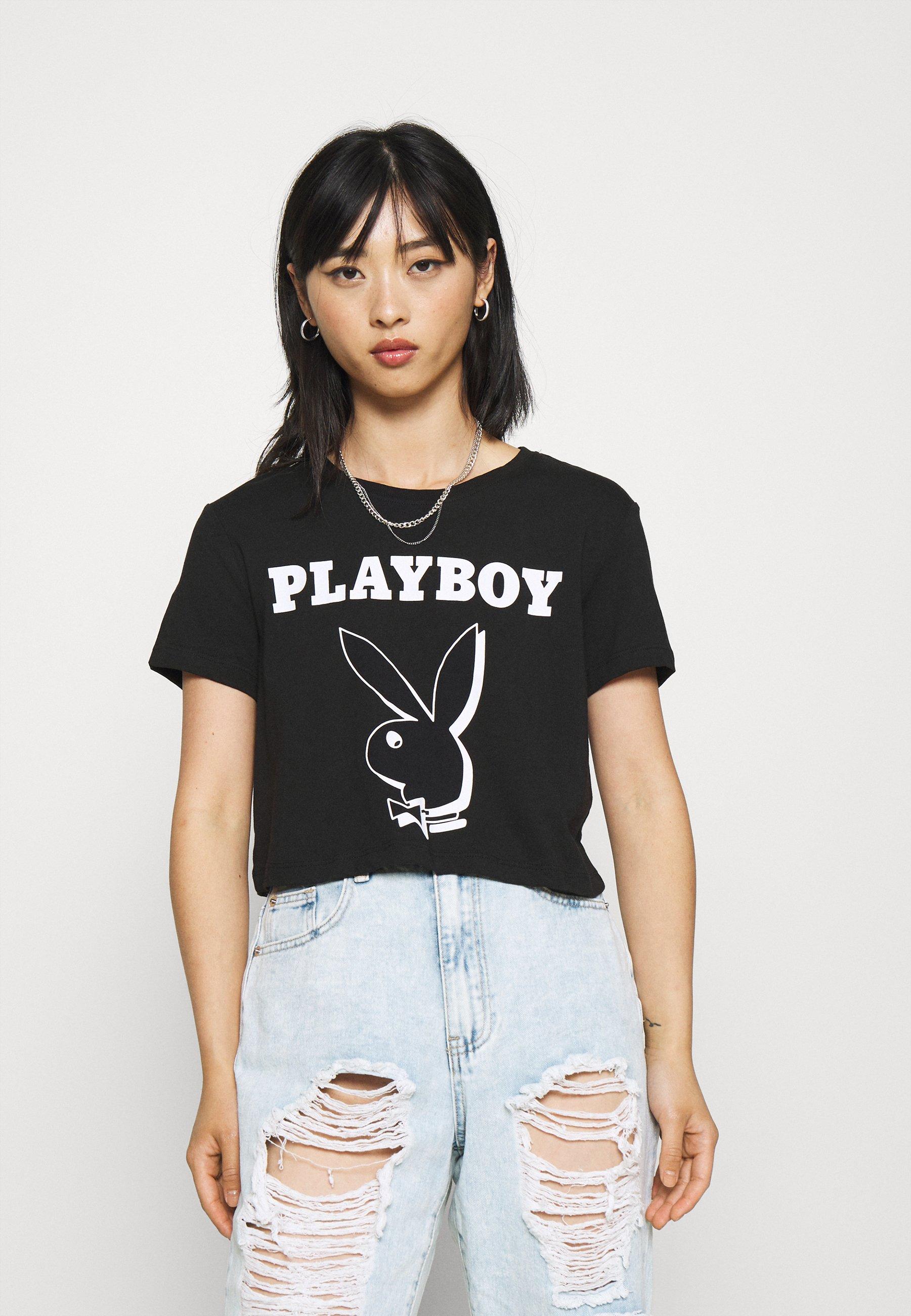 Damen ONLPLAYBOY LIFE CROP - T-Shirt print